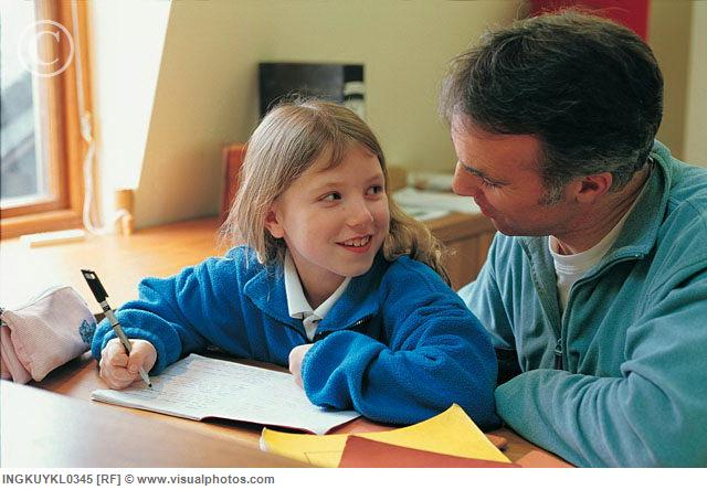 Daddy homework